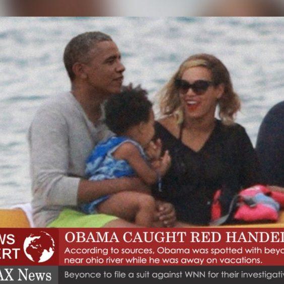 obama caught